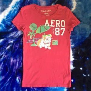 Pink Aeropostale Shirt Size Medium